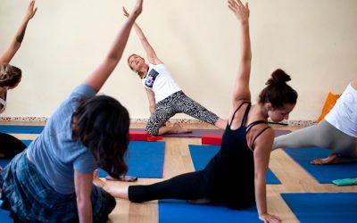 International Yoga Day in Orgiva, Spain…