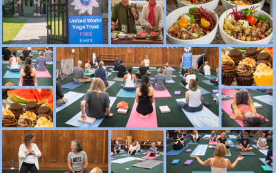 International Yoga Day in Brighton… Friends Meeting House 16/06/18