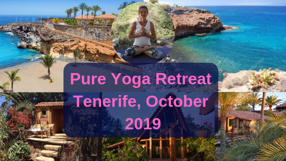 Pure yoga retreat, Tenerife – October 2019